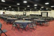 Set Up of the Main Hall Awaiting Plenary Sessions