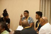 Small Circle Dialogue with Kathy Bankhead, Immediate Past Vice President of NACRJ