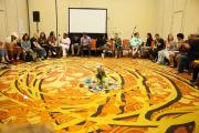 Large Circle Session with Center Piece