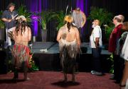 Martin Martinez and Red Road Dancers at Closing