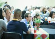 Attendees during Keynote by Dr. Christopher