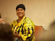 Conference Planner CamishaFatimah Gentry participating in a Workshop Session