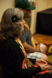 A Reflective Moment during the Session on Race