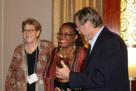 Cheryl Graves & Ora Schub Receive the Dennis Maloney Award for Youth Programs and Services