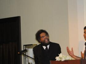 Dr. Cornel West is Asked a Question by a 16 year old your from RJOY (Oakland, CA)