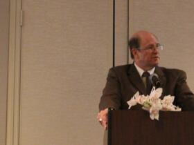 Mike Gilbert, Executive Director, Opens the Conference