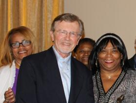 Janice Jerome with Mark Umbreit and the RJIA Team