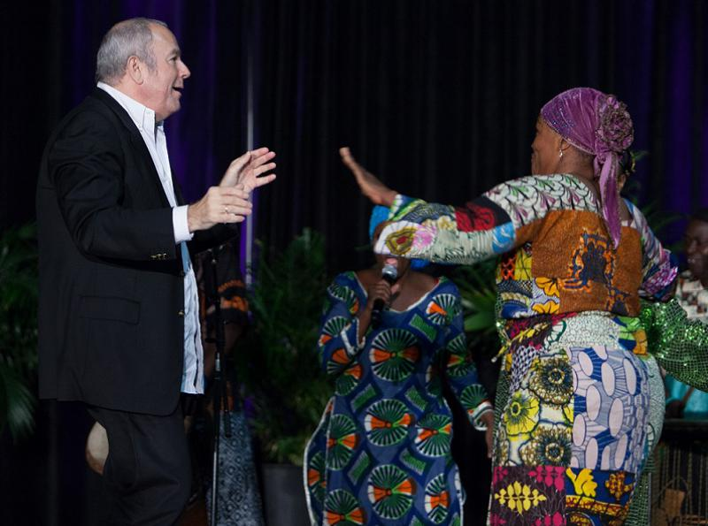 Mark Thaler hotel liaison for NACRJ Joins the African Dance Performers