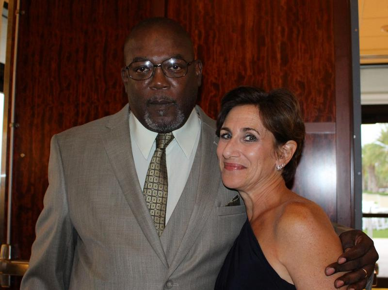 Dale Landry, Pres. NAACP - Tallahassee FL with Mara Schiff, Conference Host