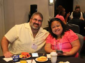 Leonard and Aouie Rubio at Breakfast (June 1, 2015)