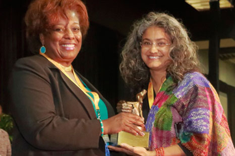 2017 Leadership and Innovation award recipient, Sujatha Baliga