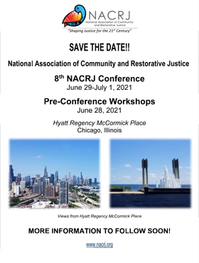 NACRJ 2021 Conference Save the Date Flyer