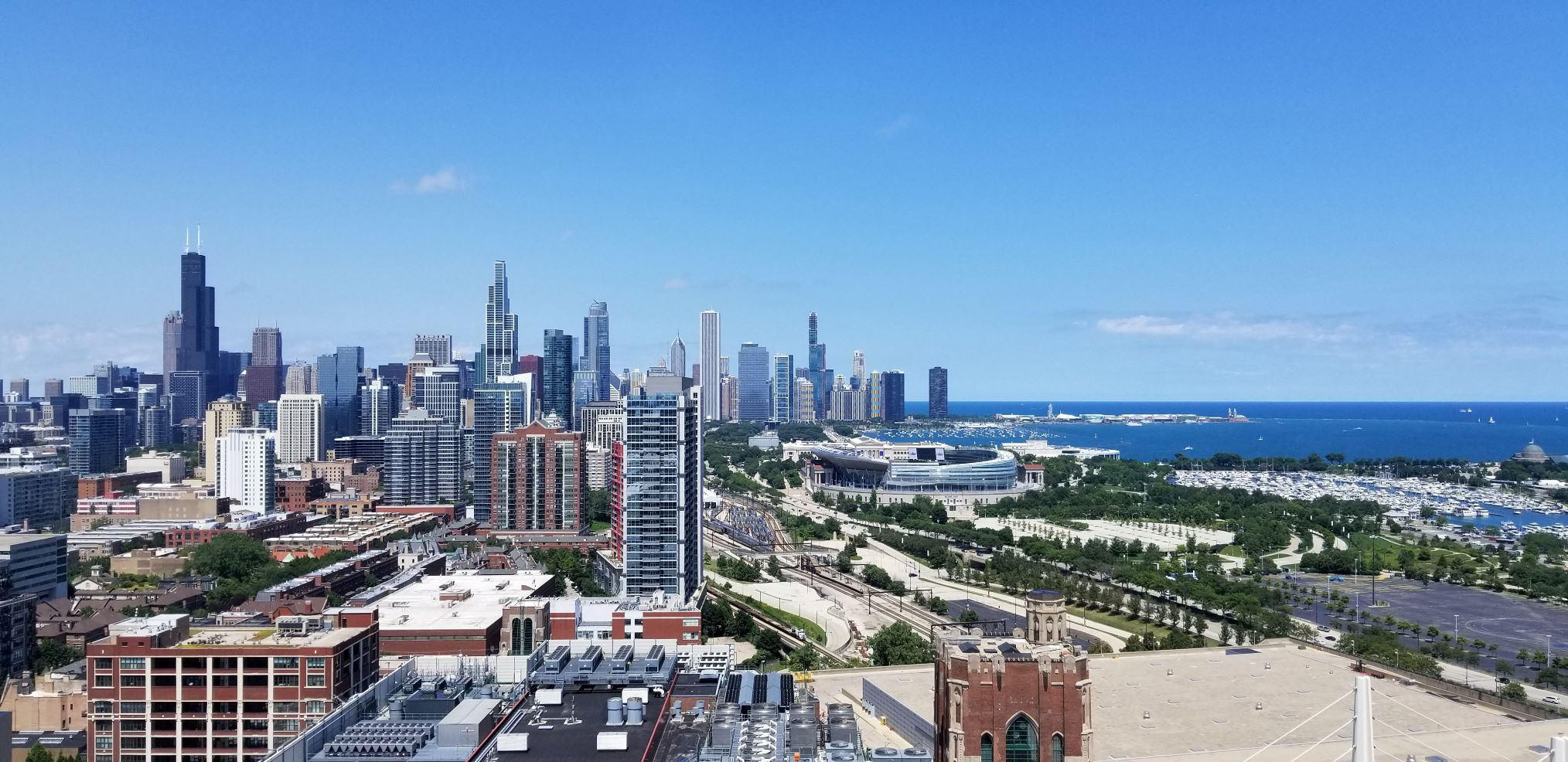 Chicago Skyline and Lake Joanne Archibald RSD